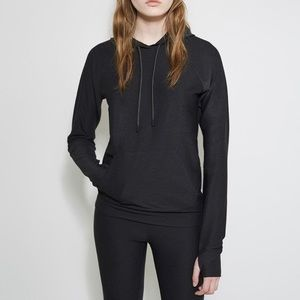 Outdoor Voices x A.P.C. Running Hoodie Charcoal